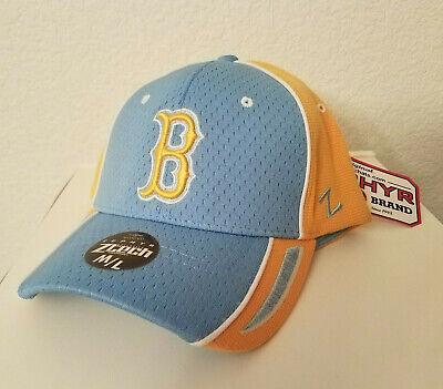 New UCLA Bruins California Blue Gold Cap Stretch Fit Sz ML Hat Zephyr Ztech B | eBay
