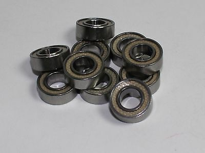Teflon Sealed Bearings 5//16x1//2x5//32 bearing 10 pcs Trucks Crawlers Short Course