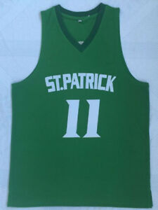 ab8404a0a352 Kyrie Irving Jersey 11 St. Patrick High School Sewn Basketball ...