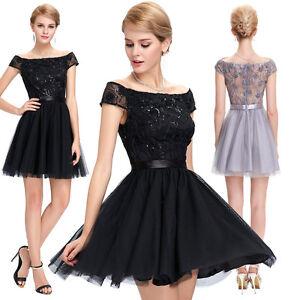 Short + Mini Cocktail Dress Party Dresses Evening Formal Bridesmaid Prom Dresses
