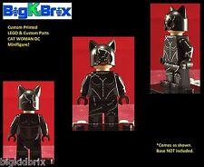 CAT WOMAN DC Batman Villain Custom Printed LEGO Minifigure NO Decals Used!