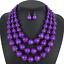 Women-Bohemian-Choker-Chunk-Crystal-Statement-Necklace-Wedding-Jewelry-Set thumbnail 143