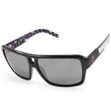782fbc4dc467 Dragon The Jam 720-2155 Polished Black White Arms/Grey Unisex Sunglasses