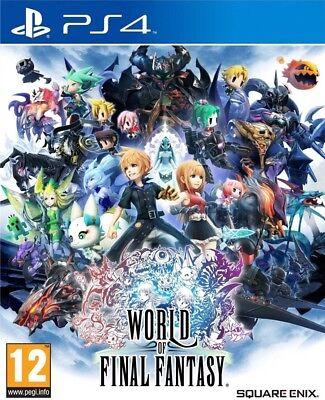 World of Final Fantasy Standard Edition (PS4)