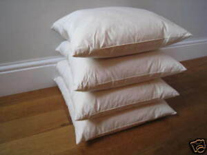 "Square Natural Duck Feather Cushion Pad Filler Insert 26/"" x 26/"" 65cm x65cm"