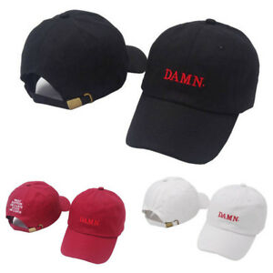 New Kendrick Lamar Damn Baseball Cap Hip Hop Tour Adjustable Dad ... fa3dd42a8e96