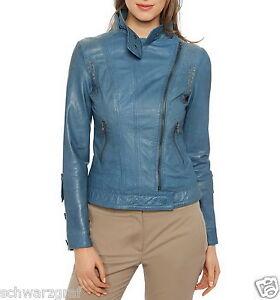 cuir Nouveau veste designer en en taille 40 peau Ashley 38 veste Brooke 42 de tFFq1R