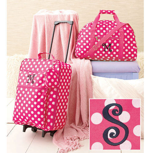 The Letter S Kids Luggage Sets for Girls Rolling Suitcase Duffel ...