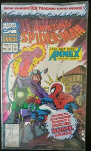 The-AMAZING-SPIDER-MAN-27-Annual-sealed-1993-MARVEL-Comics-VF-NM