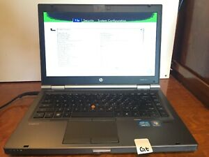 HP-Elitebook-8460w-Intel-Core-i7-2630QM-2-0GHz-4GB-NO-HD-OS-Battery-Gt
