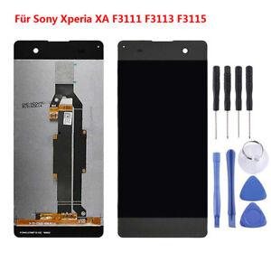 Fuer-Sony-Xperia-XA-F3111-F3113-F3115-LCD-Display-Touchscreen-Baugruppe-Schwarz-Q