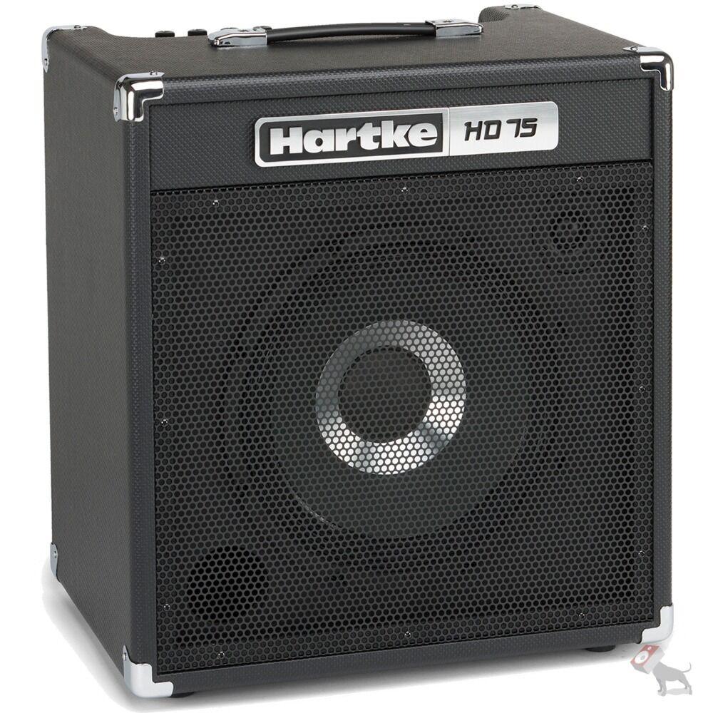 Hartke HD75 Amplificador Combo De Bajo 75 75 75 W estado sólido con un solo parlante 12  Hydrive  punto de venta