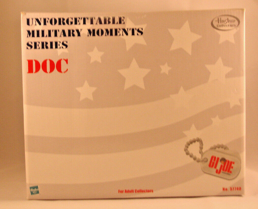 GI Joe Doc Unforgettable Military Moments Series   57740 - 2000 - New in Box