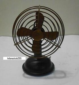 Image Is Loading Vintage Nautical Working Collectable Table Fan In 6