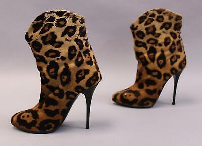 giuseppe zanotti leopard boots