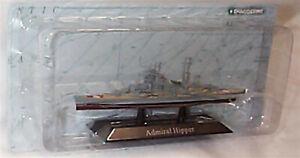 Admiral Hipper Navire De Guerre Monté Sur écran Socle échelle 1:1250 Neuf En Pack Kz16-afficher Le Titre D'origine