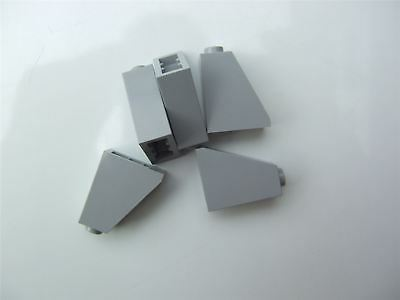 Parts /& Pieces 5 x Lego Grey ROOF TILE 2X1X2-4515374