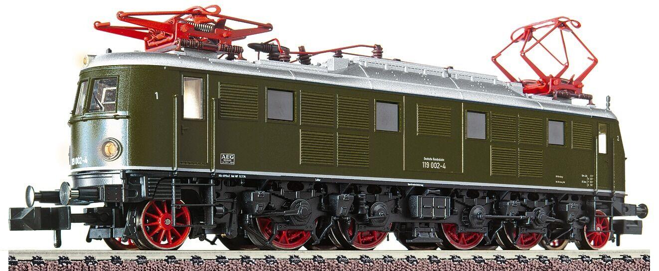 Fleischmann n 731904 e-Lok br 119 DB PE 4 neu&ovp 2 años comerciantes garantía
