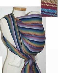 NEW-Storchenwiege-INKA-Wraparound-Baby-Toddler-Sling-Wrap-Carrier-Cotton-5-2-m
