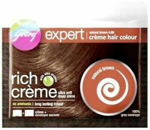 Godrej Expert Rich Creme Hair Colour Natural Brown 40gm With Free Shipping Ebay
