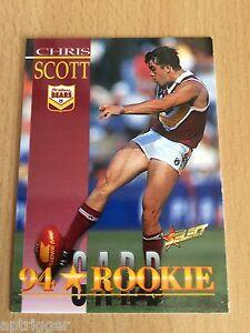1995-Select-Series-1-Rookie-239-Chris-SCOTT-Brisbane