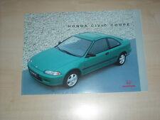 60669) Honda Civic Coupe Prospekt 08/1993