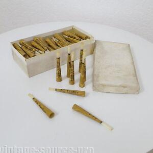 100-x-antike-Zigarettenspitze-8-5-cm-Ad-Tauber-Melsungen-30er-40er-Jahre-TOP