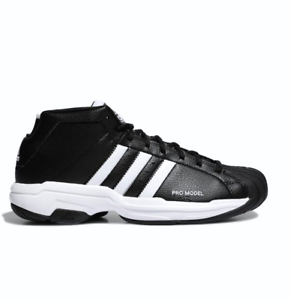 Details about Adidas Pro Model 2G SYNTHETIC Basketball Sneakers Shoes Black FW3670 Size4 12