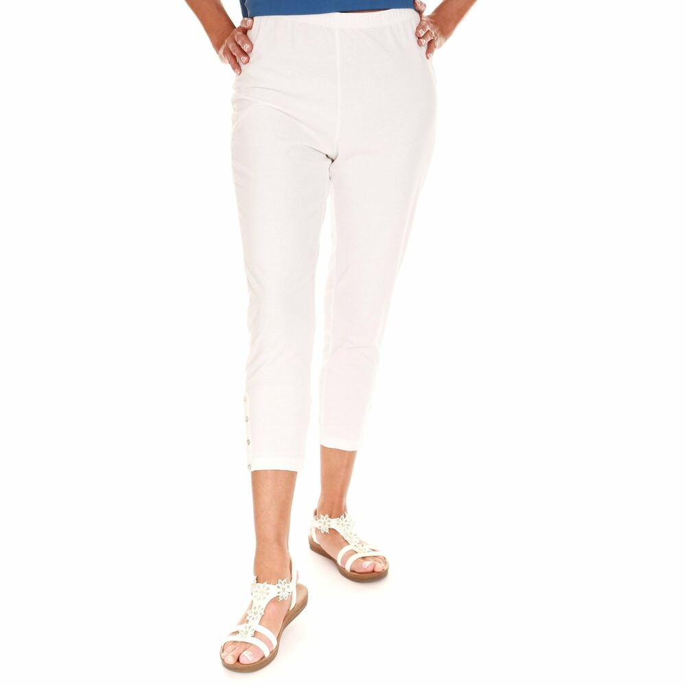 Capri Legging Ss20scl 5416 Black Denim Bleu Marine Ou Blanc