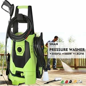 3000-PSI-High-Power-1-8GPM-Electric-Pressure-Washer-Water-Machine-Cleaner-1800W