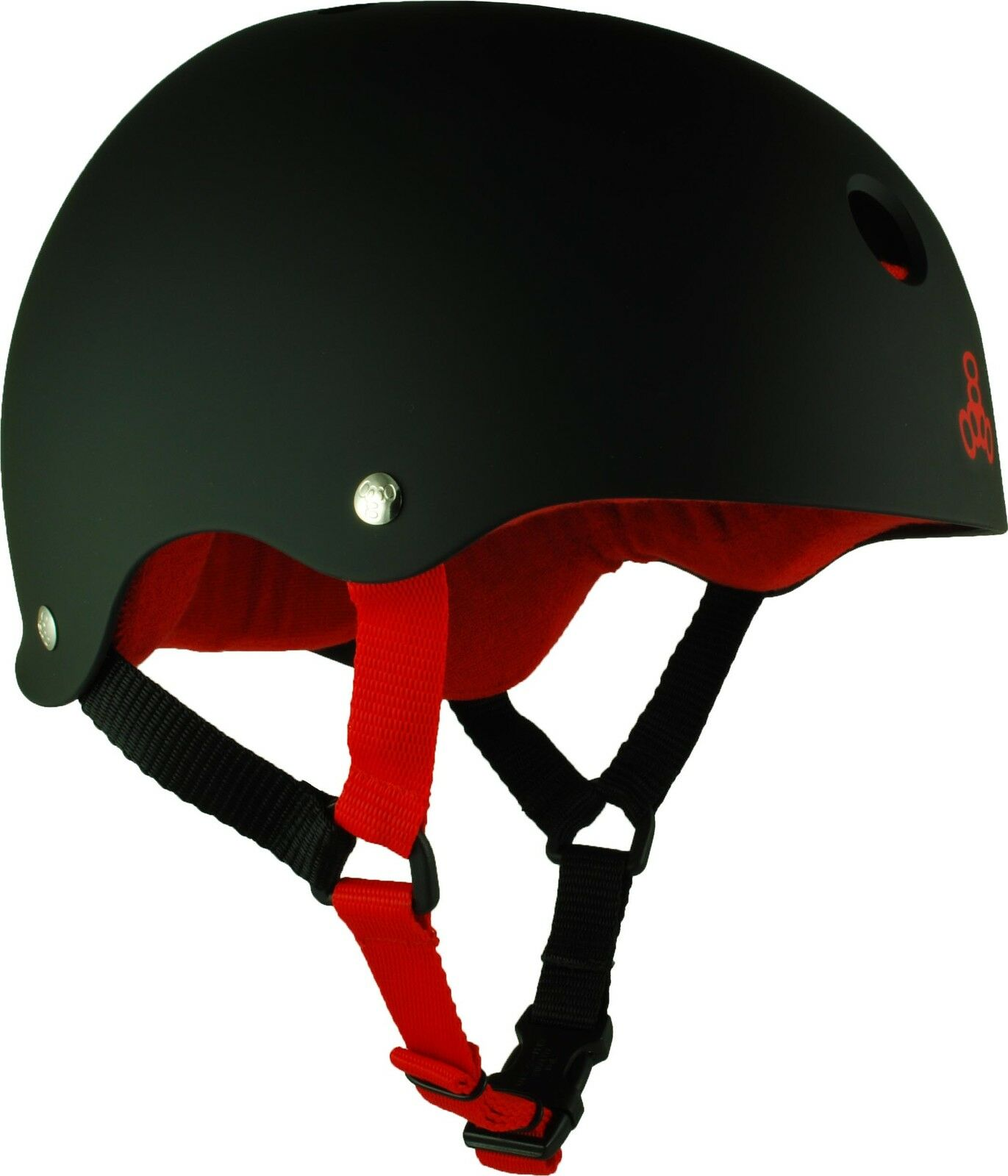 Triple 8  Rubber Helmet w  Sweatsaver Liner  cheap and top quality
