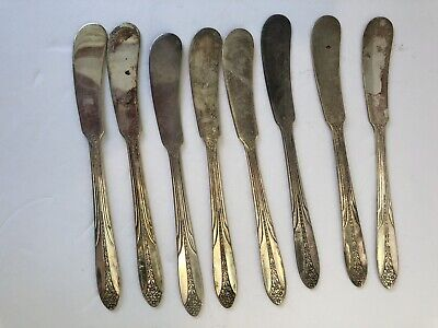 """Butter Knives 6/"""" EPNS National Silver Co"""