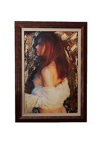 ART-by-Santodonato-034-Hope-034-framed-original-painting-ART-by-Santodonato