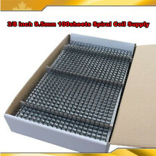 Open Box 38 Inch 95mm 100sheets Spiral Coil Supply For Binder Machine