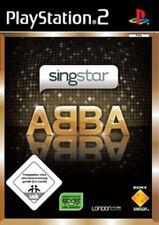 Playstation 2 SINGSTAR ABBA * KARAOKE * 20 SONGS GuterZust.