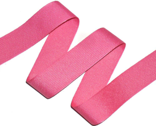 5 MTRS ASSORTED COLS TOP QUALITY GROSGRAIN RIBBON 50MM CRAFTS ETC ART 0072