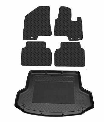 Tailored Rubber Car Mats & PVC Bootliner For Hyundai ix35 2010 Onwards