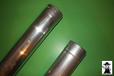 Fallrohr Regenrohr Ablaufrohr Zink Titanzink 2 m lang  100 mm 80 mm Durchmesser