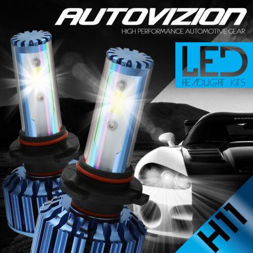 H11 H8 200W 20000LM COB LED Headlight Fog Lamp Light Bulbs Conversion Kit 6000K