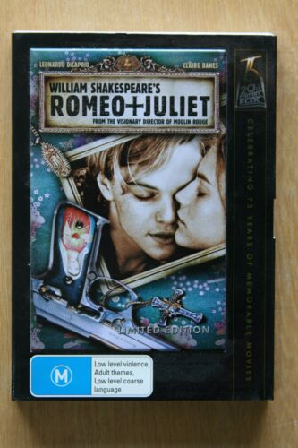 1 of 1 - Romeo And Juliet (DVD, 2010)       Preowned (D208)