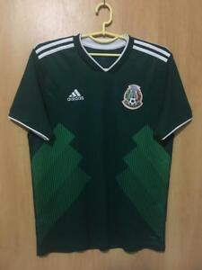 MEXICO NATIONAL TEAM 2018 2019 HOME FOOTBALL SHIRT JERSEY CAMISETA ... 6207f8ad0