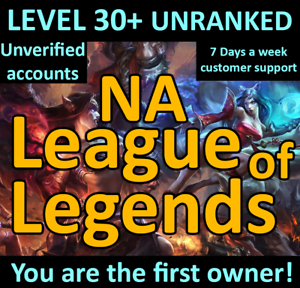 League-Of-Legends-Account-LOL-PBE-Smurf-BE-IP-Unranked-Level-30