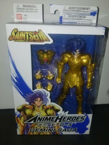 Anime Heroes Saint Seiya Knights of The Zodiac Gemini Saga