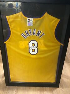 Details about kobe bryant signed autographed jersey number 8