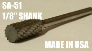 SA51D-Cylindrical-Tungsten-Carbide-Burr-Bur-Cutting-Tool-Die-Grinder-Bit-1-8-034