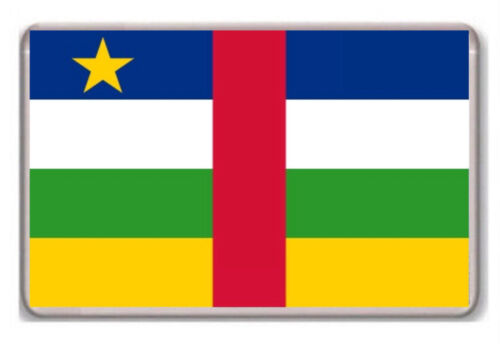 Flag of the Central African Republic fridge magnet