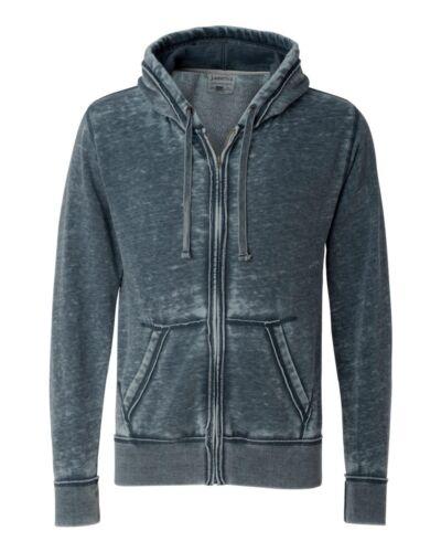 J 8916 America Zen Full-Zip Hooded Sweatshirt