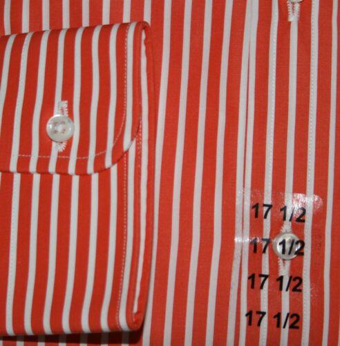 Camicia amp; Kw 43 Viola 44 Arancione Strisce Etichetta Ralph Derek Tailored Lauren 0SqqA