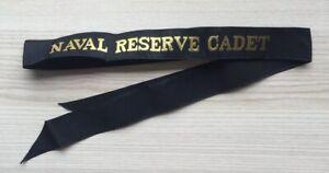 NAVEL-RESERVE-CADET-GENUINE-RAN-TALLY-BAND-220-SHIPS-NAMES-AVAILABLE