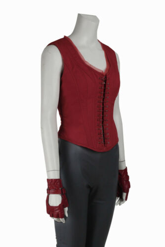 Captain America 3 Civil War Cosplay Costume Scarlet Witch Wanda Maximoff Outfit